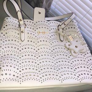 Cream Jessica Simpson Shoulder bag